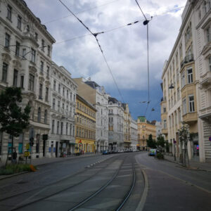 Titelbild des Krimi-Trails in Wien Alsergrund